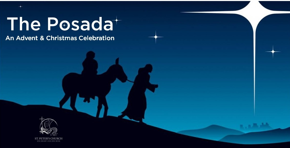 the young families group will be hosting its first christmas posada at st peters a posada is a traditional mexican advent celebration symbolizing mary - Posada Christmas