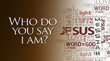 "Jesus said to them, ""But who do you say that I am?"" Simon Peter ..."